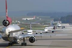 Ελβετικές αερογραμμές McDonnell Douglas MD-11 Στοκ Εικόνες