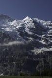 Ελβετικές δύσκολες Άλπεις το καλοκαίρι Στοκ φωτογραφία με δικαίωμα ελεύθερης χρήσης