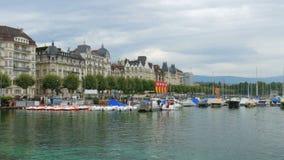 ελβετική άποψη λιμνών σχετικά με το βουνό ορών, Ελβετία φιλμ μικρού μήκους