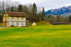 Ελβετική επαρχία, σε Appenzell Στοκ Εικόνες