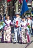 Ελβετική παρέλαση εθνικής μέρας στη Ζυρίχη Στοκ Εικόνες