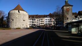 Ελβετική πόλη, solothurn Στοκ Εικόνες