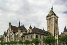 Ελβετικό Εθνικό Μουσείο, Ζυρίχη Στοκ Εικόνες