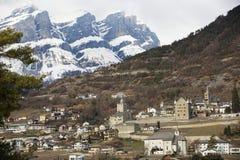 Ελβετικό κάστρο στοκ φωτογραφίες με δικαίωμα ελεύθερης χρήσης