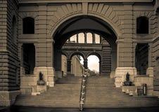 Ελβετικό κτήριο του Κοινοβουλίου στη Βέρνη Στοκ Φωτογραφία