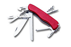 Ελβετικό μαχαίρι στρατού Στοκ Εικόνα