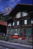 Ελβετικό ξενοδοχείο στοκ φωτογραφίες