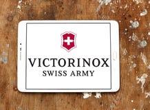 Ελβετικό λογότυπο στρατού Victorinox Στοκ εικόνες με δικαίωμα ελεύθερης χρήσης
