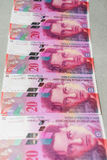 Ελβετικό φράγκο στοκ εικόνα με δικαίωμα ελεύθερης χρήσης