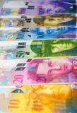 Ελβετικό φράγκο Στοκ Φωτογραφίες