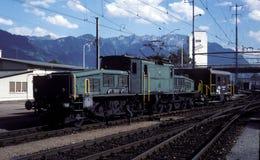 Ελβετικό CE 6/8, αριθ. κατηγορίας 14281 - Buchs, 1980 Στοκ εικόνες με δικαίωμα ελεύθερης χρήσης