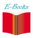 Ε-βιβλία Στοκ εικόνα με δικαίωμα ελεύθερης χρήσης