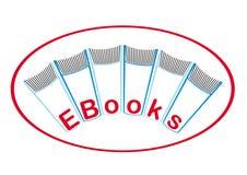 Ε-βιβλία Στοκ Εικόνες