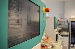 Ελεγκτής βιολογικών αντιδραστήρων Στοκ εικόνες με δικαίωμα ελεύθερης χρήσης