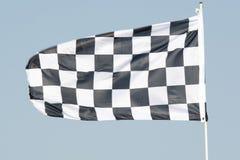 ελεγμένη σημαία Στοκ Εικόνα