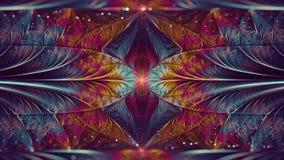 Ελλειπτική Fractal τέχνη με Bokeh Στοκ Εικόνες