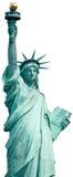 Ελευθερία Νέα Υόρκη αγαλμάτων που απομονώνεται Στοκ Φωτογραφία