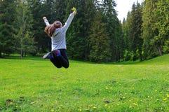 Ελευθερία στο δάσος στοκ εικόνες με δικαίωμα ελεύθερης χρήσης