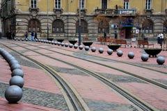 Ελευθερία τετραγωνικό Piata Libertatii Στοκ Εικόνες