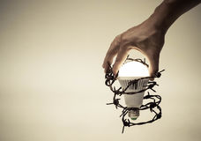 Ελευθερία της σκέψης και της ιδέας Στοκ Φωτογραφίες