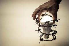 Ελευθερία της σκέψης και της ιδέας Στοκ φωτογραφίες με δικαίωμα ελεύθερης χρήσης