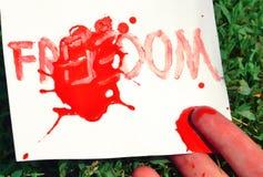 Ελευθερία Στοκ φωτογραφία με δικαίωμα ελεύθερης χρήσης