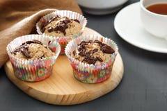 Ελεύθερα muffins ικανότητας ζάχαρης Στοκ Φωτογραφία