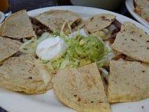 Ελεύθερα quesadillas μπριζόλας γλουτένης στοκ εικόνες με δικαίωμα ελεύθερης χρήσης