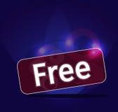 Ελεύθερες ετικέτες σε ένα αφηρημένο υπόβαθρο. διάνυσμα Στοκ φωτογραφία με δικαίωμα ελεύθερης χρήσης