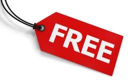 Ελεύθερη ετικέτα τιμών στοκ φωτογραφίες με δικαίωμα ελεύθερης χρήσης