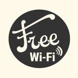 Ελεύθερη ζώνη WI-Fi Στοκ Εικόνες