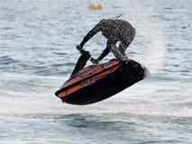 Ελεύθερη κολύμβηση Jetski ανταγωνισμού Στοκ Φωτογραφία