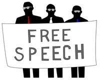 Ελεύθερη ομιλία Στοκ φωτογραφία με δικαίωμα ελεύθερης χρήσης