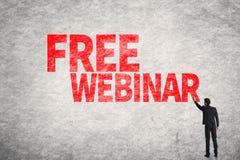 Ελεύθερο Webinar στοκ εικόνες