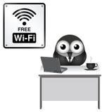 Ελεύθερο wifi Στοκ εικόνα με δικαίωμα ελεύθερης χρήσης