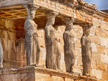 Ελληνικά αγάλματα Parthenon Στοκ Εικόνα
