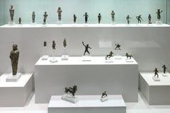 Ελληνικά εκθέματα στο μουσείο της αρχαιολογίας, Αθήνα, Ελλάδα Στοκ εικόνα με δικαίωμα ελεύθερης χρήσης