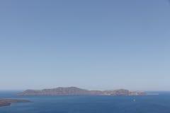 Ελληνικά νησιά με τη μορφή κροκοδείλων Στοκ φωτογραφία με δικαίωμα ελεύθερης χρήσης