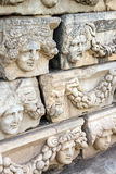 Ελληνικές μάσκες θεάτρων Στοκ φωτογραφία με δικαίωμα ελεύθερης χρήσης