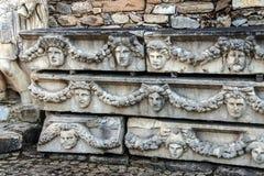 Ελληνικές μάσκες θεάτρων Στοκ φωτογραφίες με δικαίωμα ελεύθερης χρήσης
