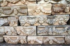Ελληνικές μάσκες θεάτρων Στοκ Φωτογραφία