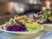 Ελληνικές σαλάτες Στοκ εικόνα με δικαίωμα ελεύθερης χρήσης