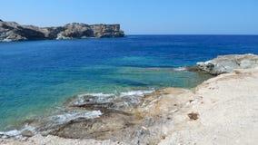 Ελληνική ακτή Στοκ εικόνες με δικαίωμα ελεύθερης χρήσης