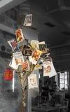 Ελληνική εκλεκτής ποιότητας διαφήμιση μπύρας Στοκ Φωτογραφία