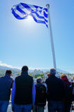 Ελληνική κρουαζιέρα Στοκ φωτογραφίες με δικαίωμα ελεύθερης χρήσης