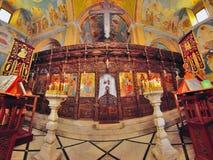 Ελληνική Ορθόδοξη Εκκλησία Annunciation, Ναζαρέτ Στοκ φωτογραφία με δικαίωμα ελεύθερης χρήσης