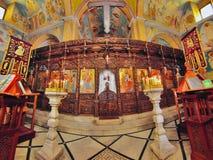 Ελληνική Ορθόδοξη Εκκλησία Annunciation, Ναζαρέτ Στοκ Φωτογραφίες