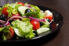 ελληνική σαλάτα Στοκ Φωτογραφίες