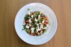 ελληνική σαλάτα στοκ φωτογραφία