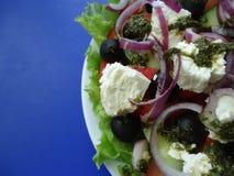 ελληνική σαλάτα Στοκ φωτογραφίες με δικαίωμα ελεύθερης χρήσης
